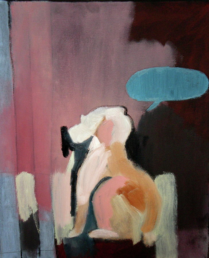 Rabbit Painting - Even The Animals Lost Their Voices No. 5 by Travis Lester