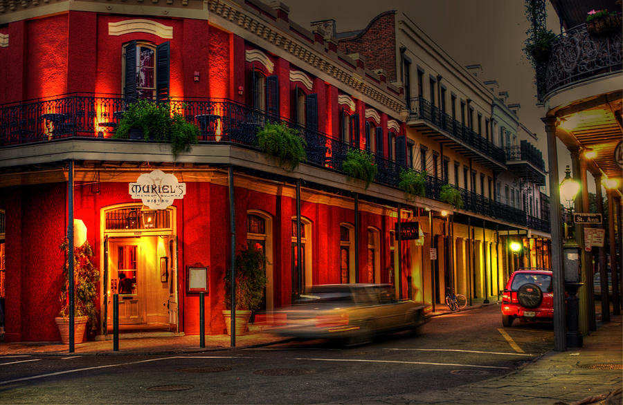 New Orleans Photograph - Evening At Muriels by Greg and Chrystal Mimbs