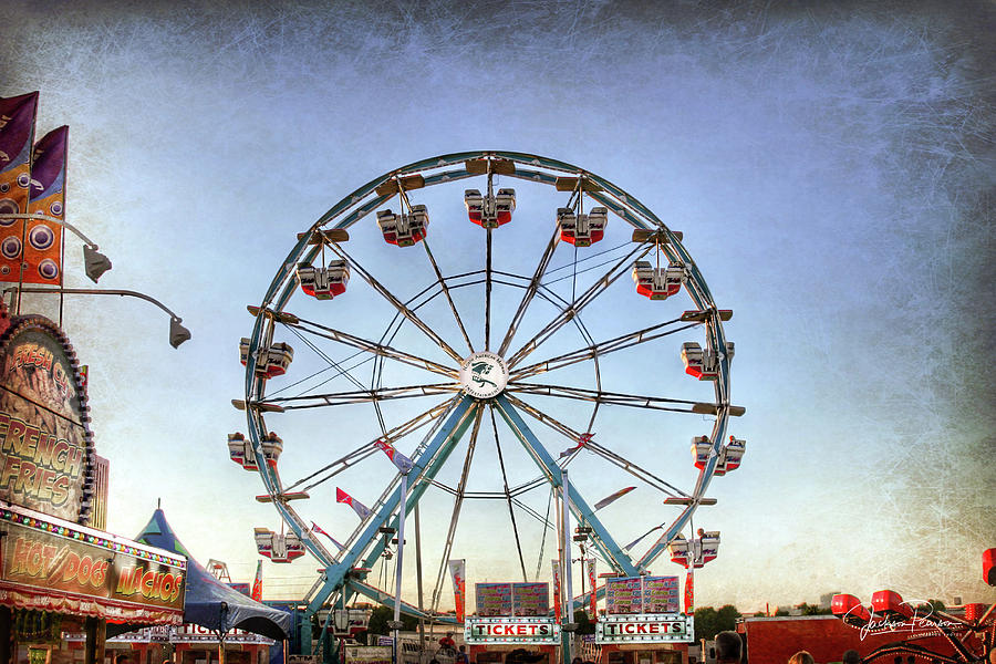 Fair Photograph - Evening At The Fair by Jackson Pearson