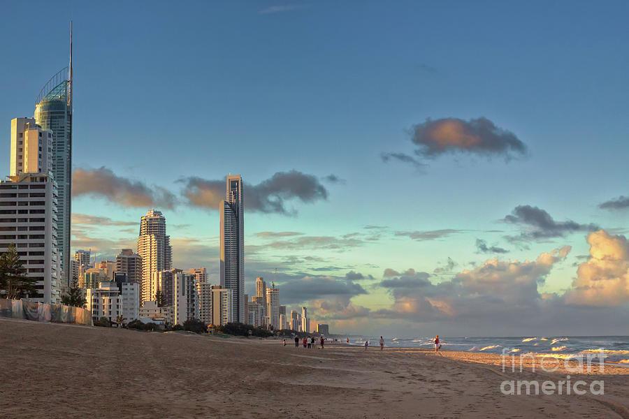 Australia Photograph - Evening At The Gold Coast by Jukka Heinovirta