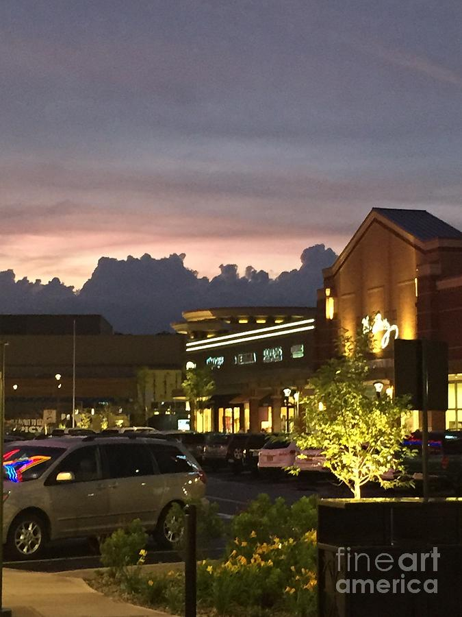 Evening At The Mall Photograph by Parker ODonnell