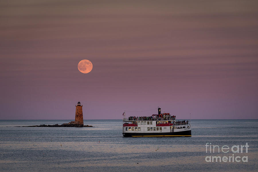 Portsmouth Photograph - Evening At Whaleback by Scott Thorp