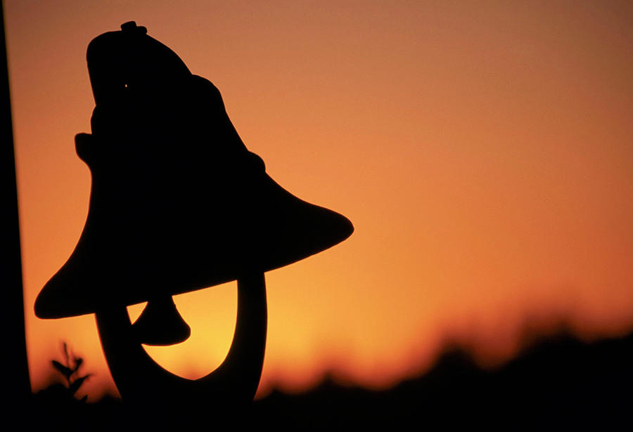 Sunset Photograph - Evening Bell by Ruth Eich