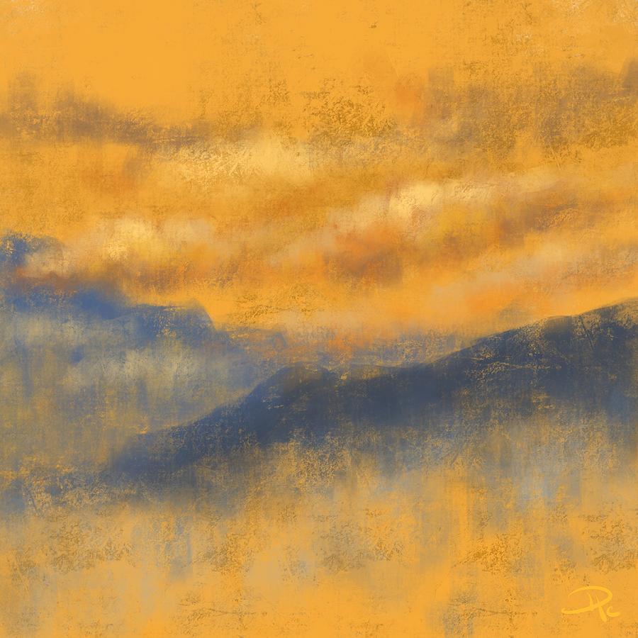Evening Digital Art - Evening Bliss by David G Paul