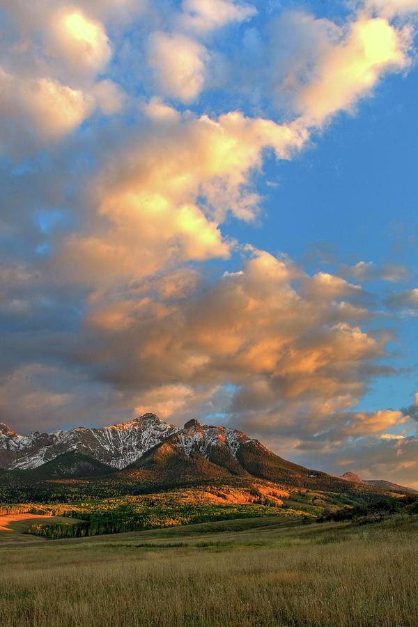 Evening Clouds Photograph