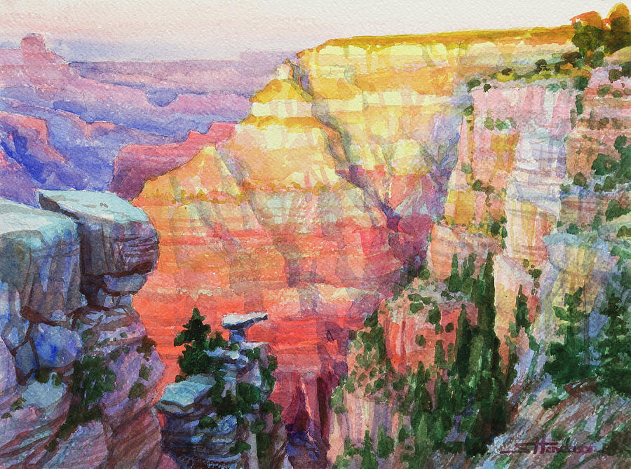 Southwest Painting - Evening Colors  by Steve Henderson