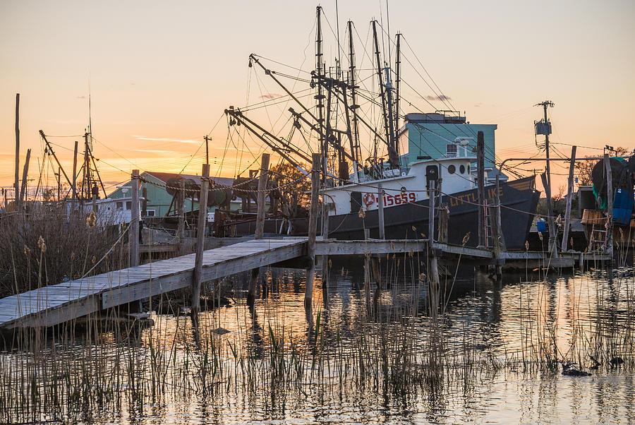 Evening Docks Photograph by Kristopher Schoenleber