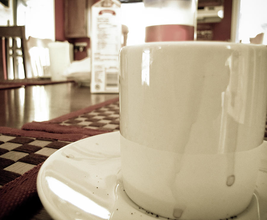 Coffee Photograph - Evening Espresso by Peter May