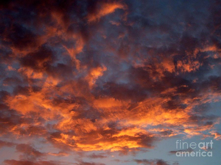 Arte Photograph - Evening Flames B by Ciro Pignalosa