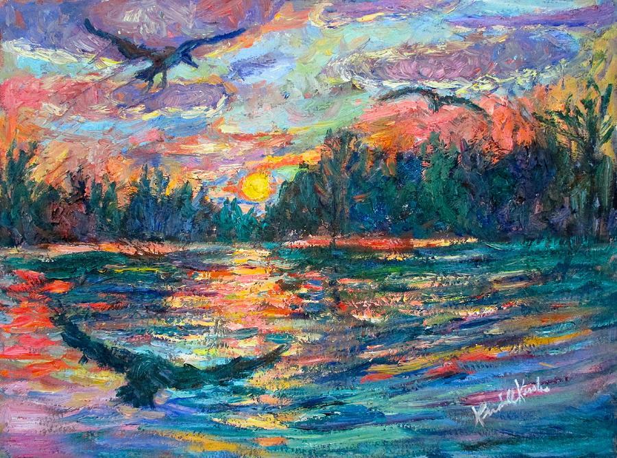 Evening Flight by Kendall Kessler