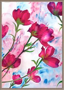 Dogwood Flower Painting - Evening Glory by Pratibha Garewal