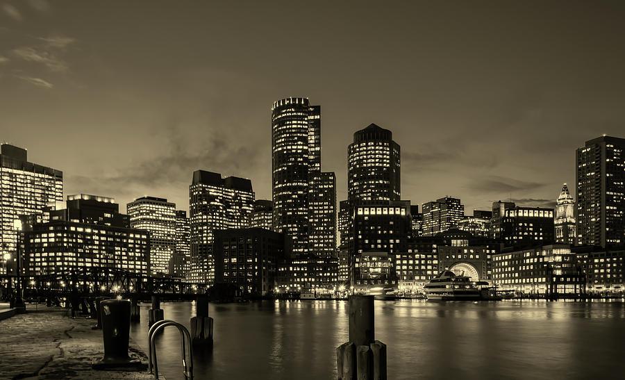 Boston Photograph - Evening In Boston by Unsplash