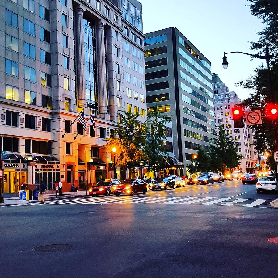 City Photograph - Evening in D.C. by Ric Schafer