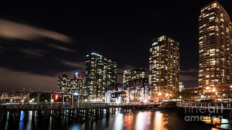Evening in Long Island City by Sally Morales