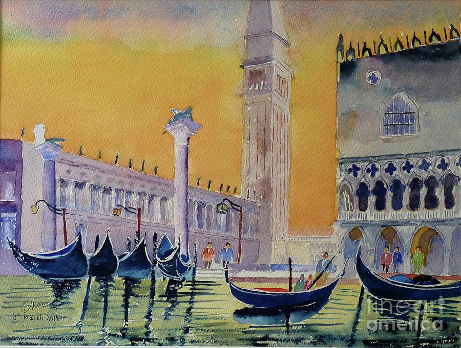 evening in Venice by Godwin Cassar