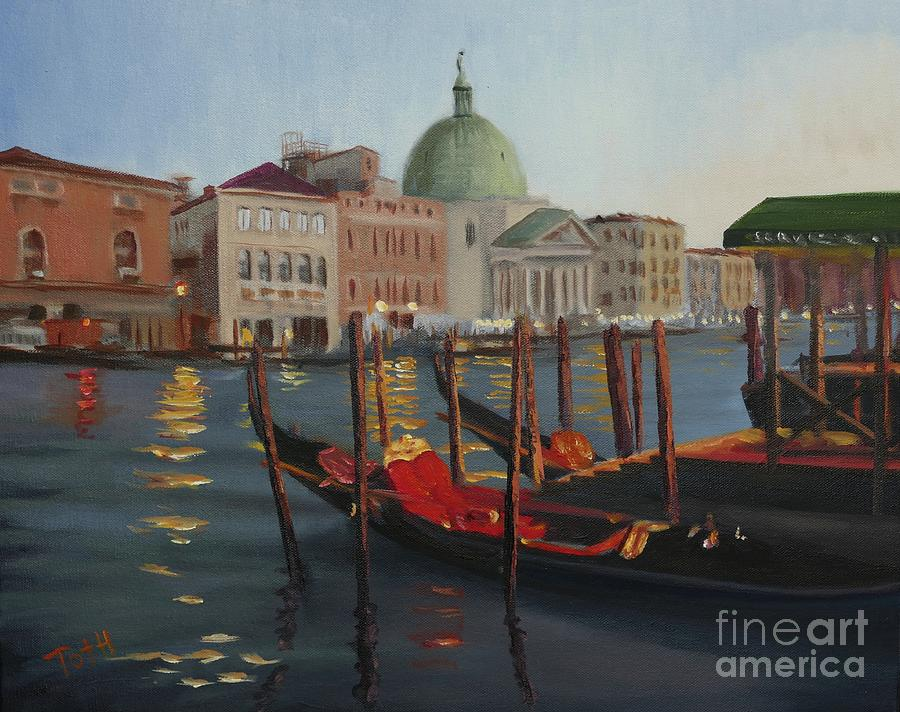 Evening in Venice by Laura Toth