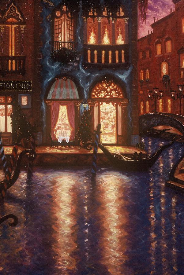 Venice Painting - Evening In Venice by Scott Jones