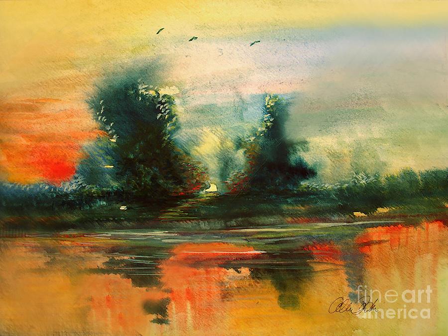 Evening Light Painting