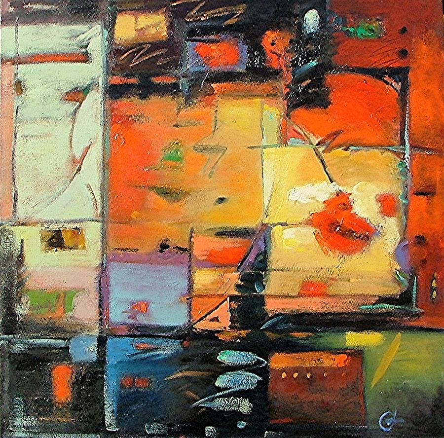 Abstract Painting Painting - Evening Light by Gary Coleman