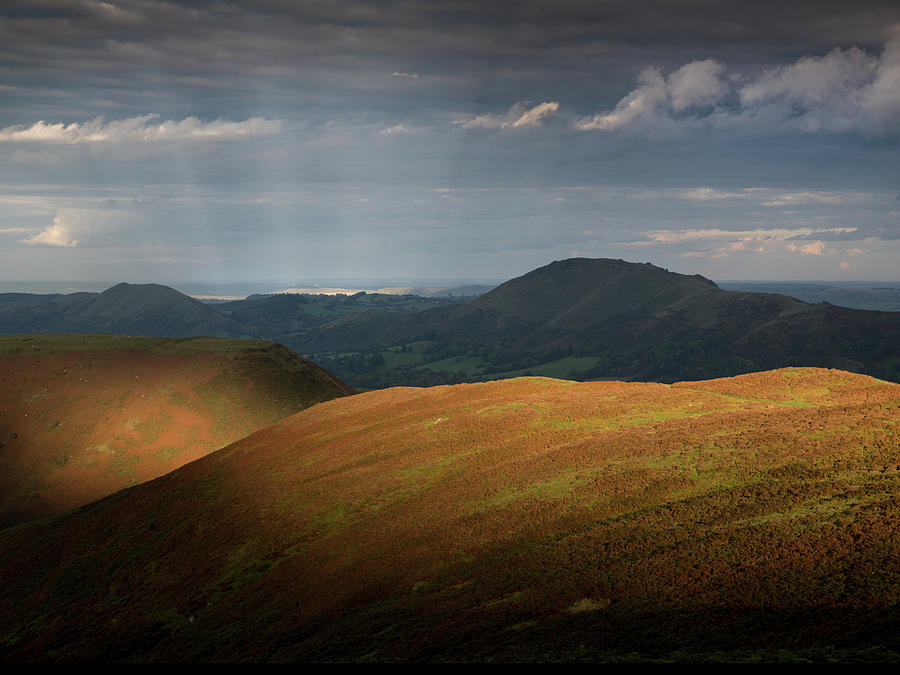Church Stretton Photograph - Evening Light by Richard Greswell