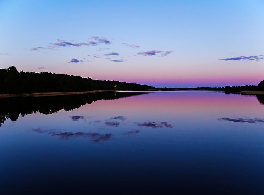 Landscape Photograph - Evening Mirror by Micke Holmberg