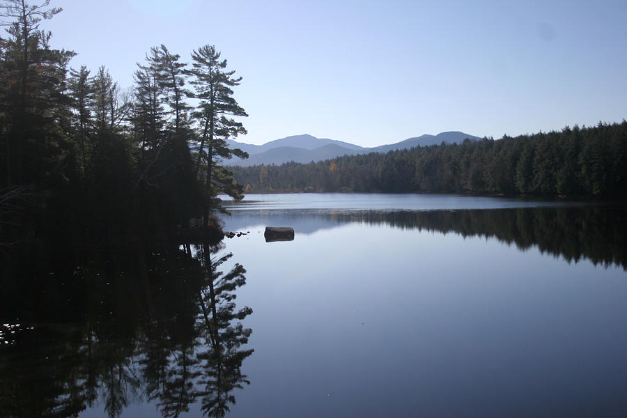 Adirondacks Photograph - Evening On The Lake by Kate  Leikin