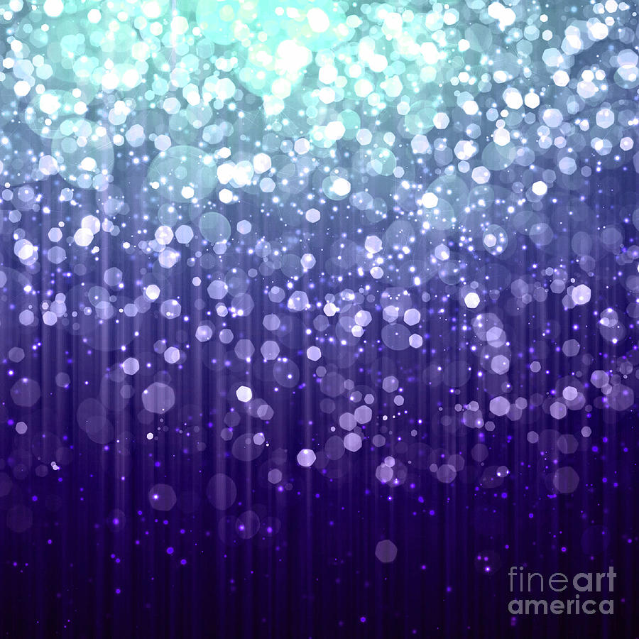 Evening Sparkle Abstract Sparkle Art Digital Art By Tina Lavoie