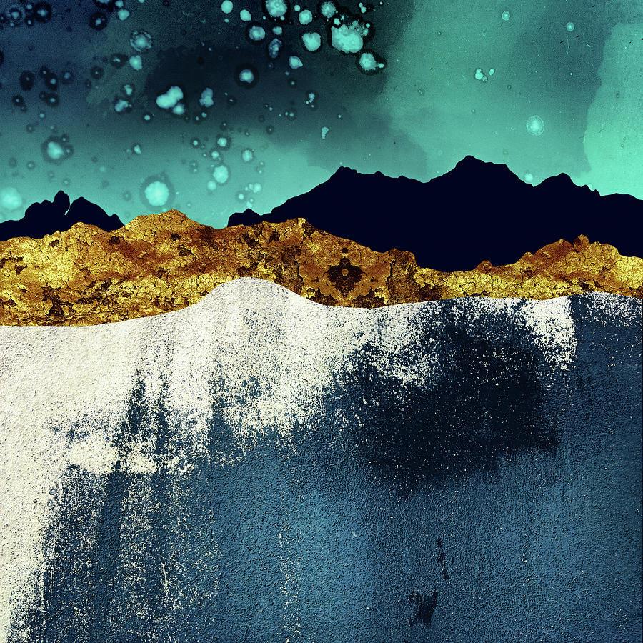 Evening Digital Art - Evening Stars by Katherine Smit