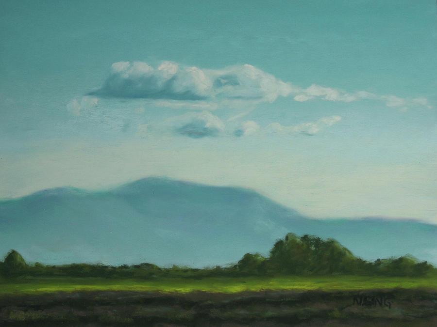 Landscape Painting - Evening Stillness by Nancy Ging