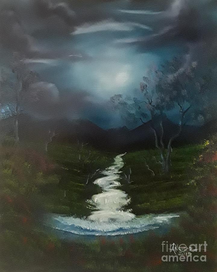 Evening Stream by Anthony Nunez
