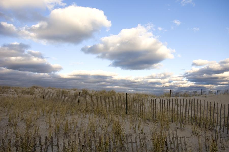 Beach Photograph - Evening Sunset Beach Scene Along Cape by Keenpress