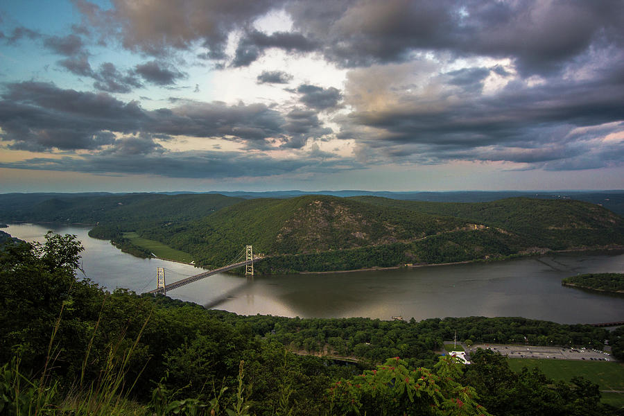 Evening View From Bear Mountain by John Morzen