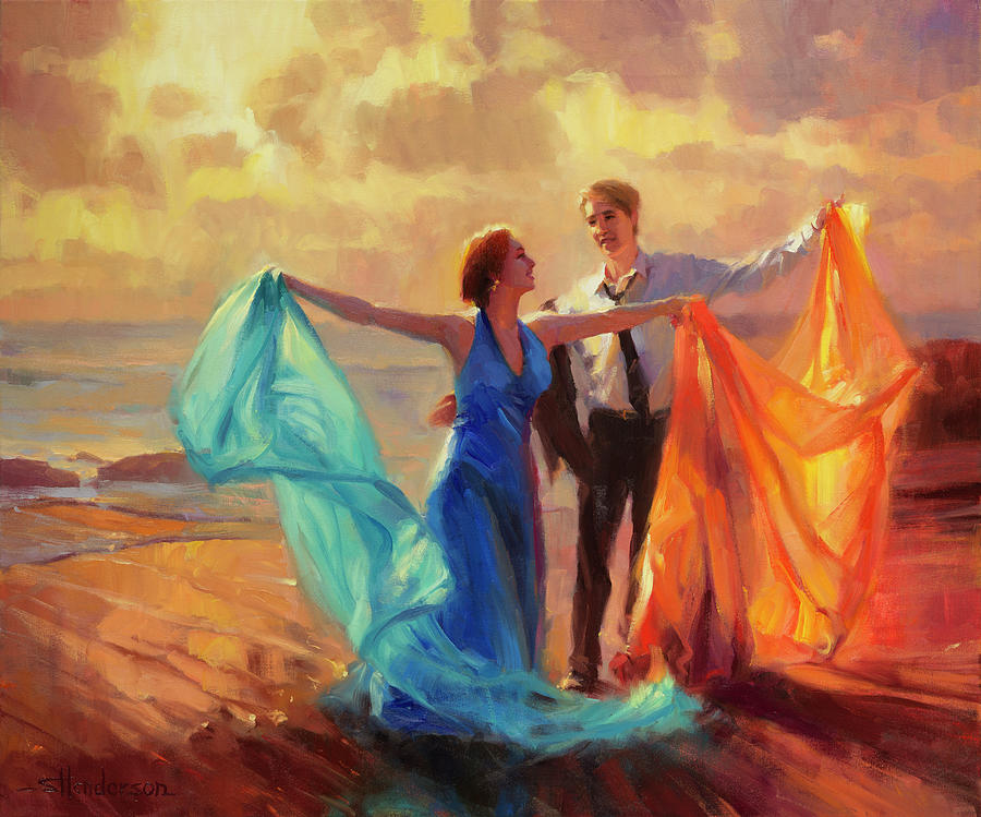 Evening Waltz Painting