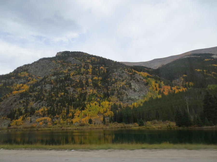 Mountains Photograph - Ever Day Should  Be A Holiday For A Drive by Paul - Phyllis Stuart