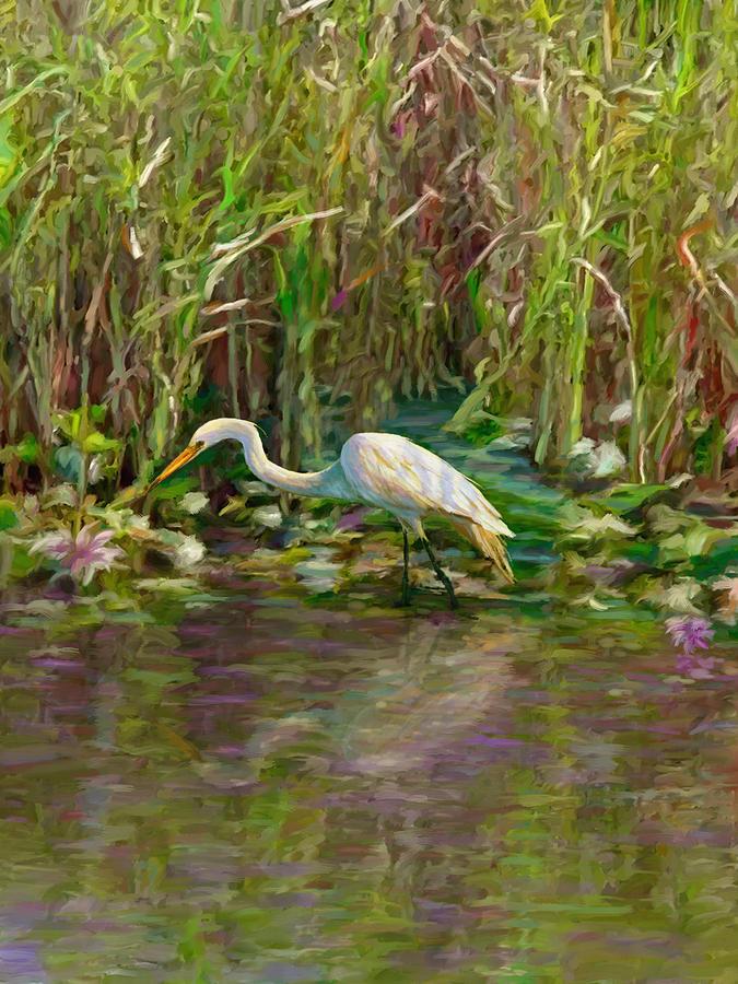 Everglades Hunter by David Van Hulst