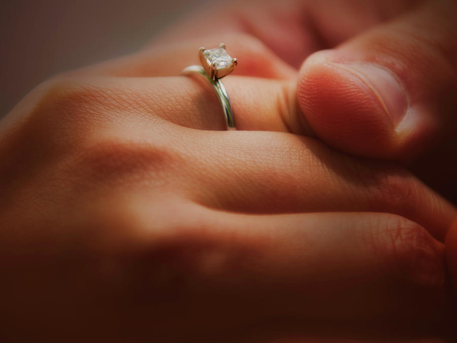 Adult Photograph - Everlasting Bond by Venura Herath