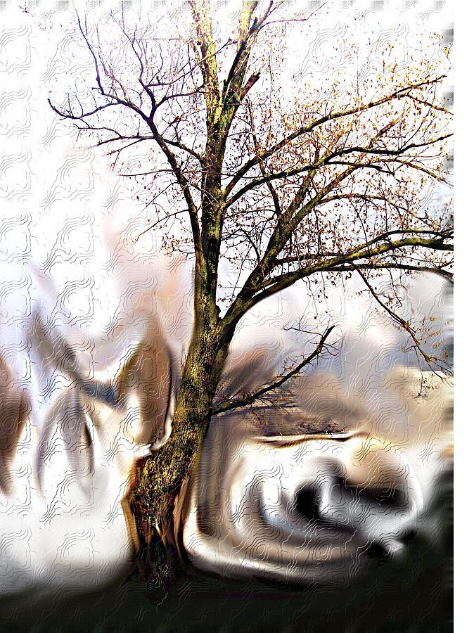 Landscape Digital Art - Everlasting by Crystal Webb