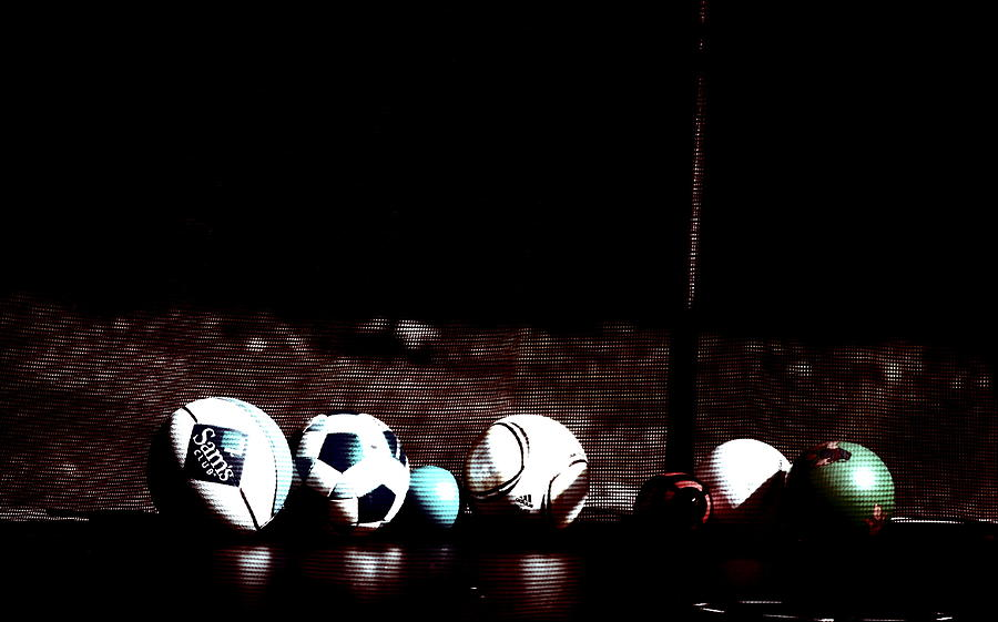 Balls Photograph - Every Boys Dream  by Emily Stauring