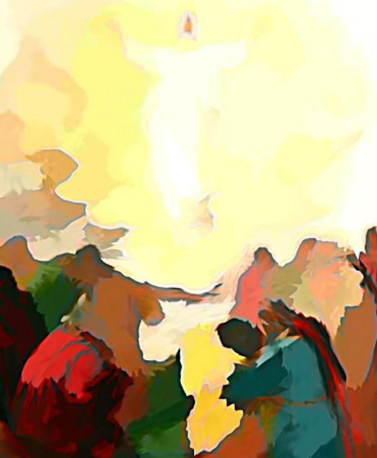 Jesus Digital Art - Every Eye Shall See by Keith Clark