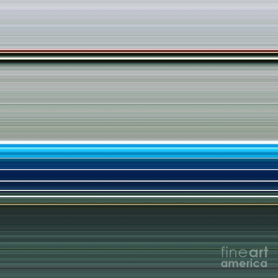 Graphic Digital Art - Every Line by Philip Sheppard
