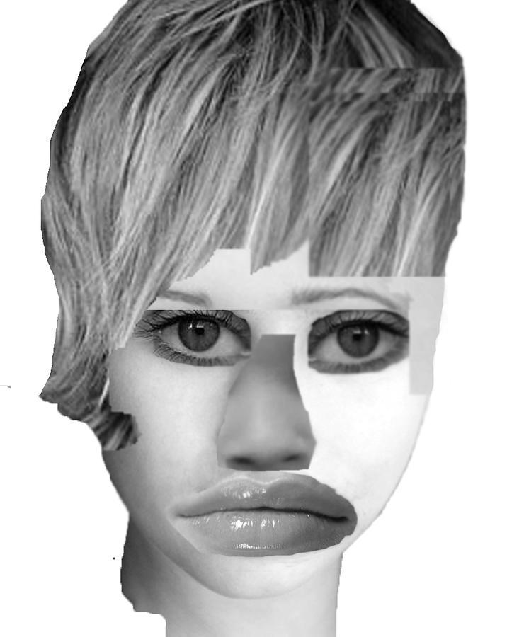 Nose Digital Art - Everyone by Frankie Graham