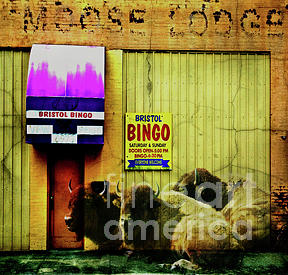 Mixed Media Photograph - Everyone Welcome by Brian Barrer