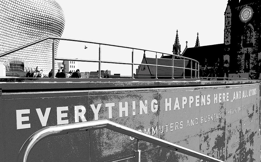 Everything Happens Here by Mary Castellan