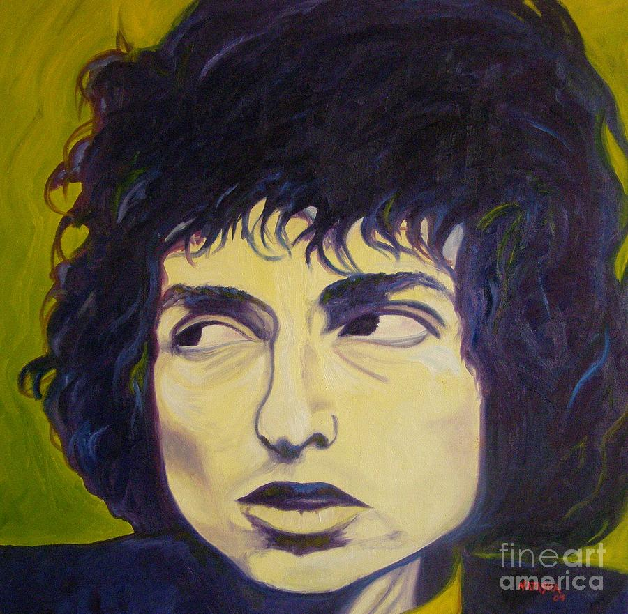 Bob Dylan Painting - Everything Is Broken by Natasha Laurence