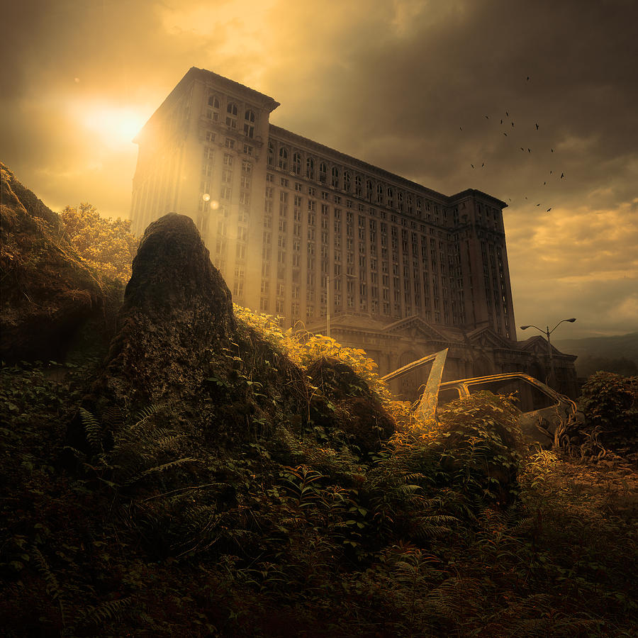 Everything Must Perish Photograph by Michal Karcz