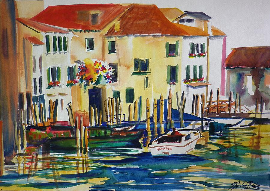 Venice Painting - Everything Venice by Therese Fowler-Bailey