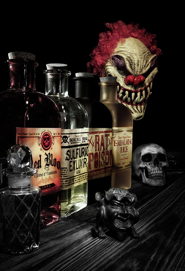 Halloween Photograph - Evil Alchemy by Tom Mc Nemar
