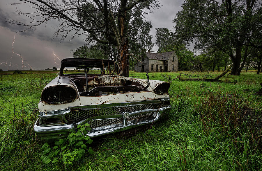 Evil Dead - Lightning Photograph