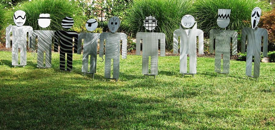Outdoor Sculpture Sculpture - Evil Doers Of Waite Hill by Dawn  Johnson