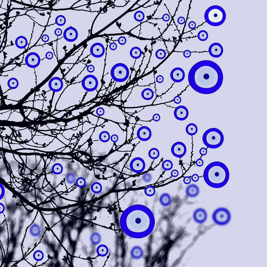 Evil Eye Tree Photograph
